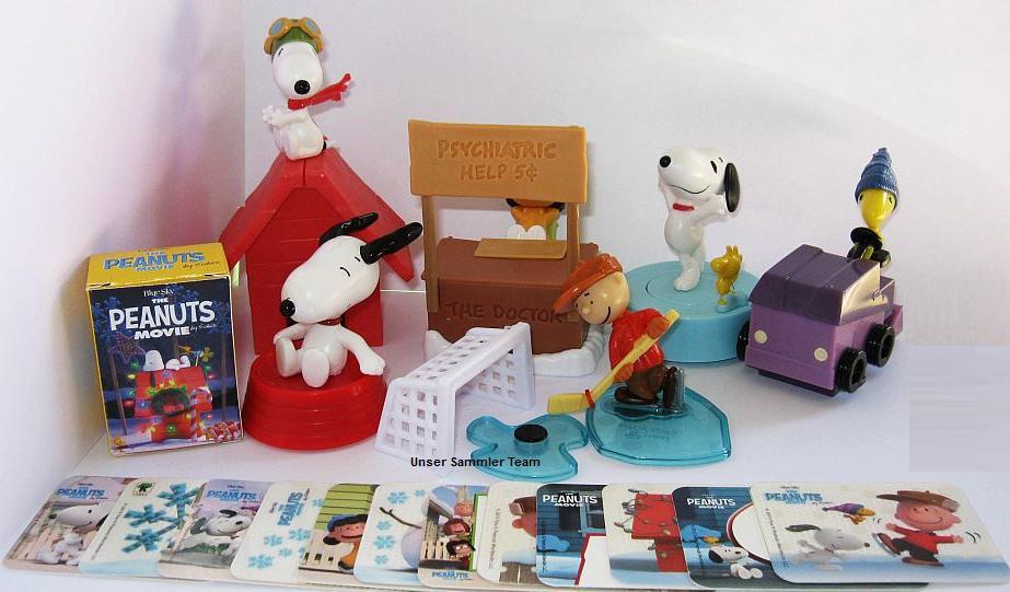 The Peanuts Movie - Snoopy der Film - Maxi Ei 2015 - Weihnachten