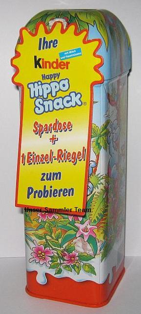 kinder happy hippo snack spardose f r supermarktleiter. Black Bedroom Furniture Sets. Home Design Ideas